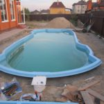 установка бассейнов киев