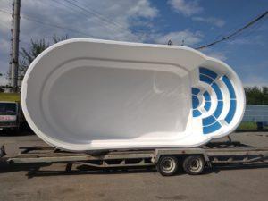 стекловолоконный бассейн в Василькове