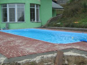 установка бассейна киев