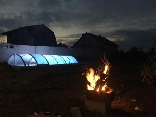 Подсветка павильоны