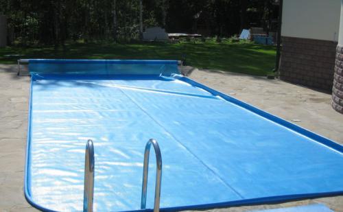 Солярное накрытие бассейна